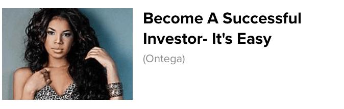 Ontega ad example