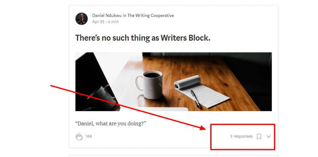 image of medium engagement and comments