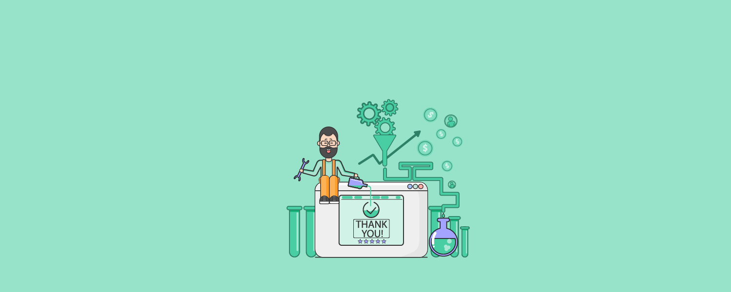 thank you page featured illustration
