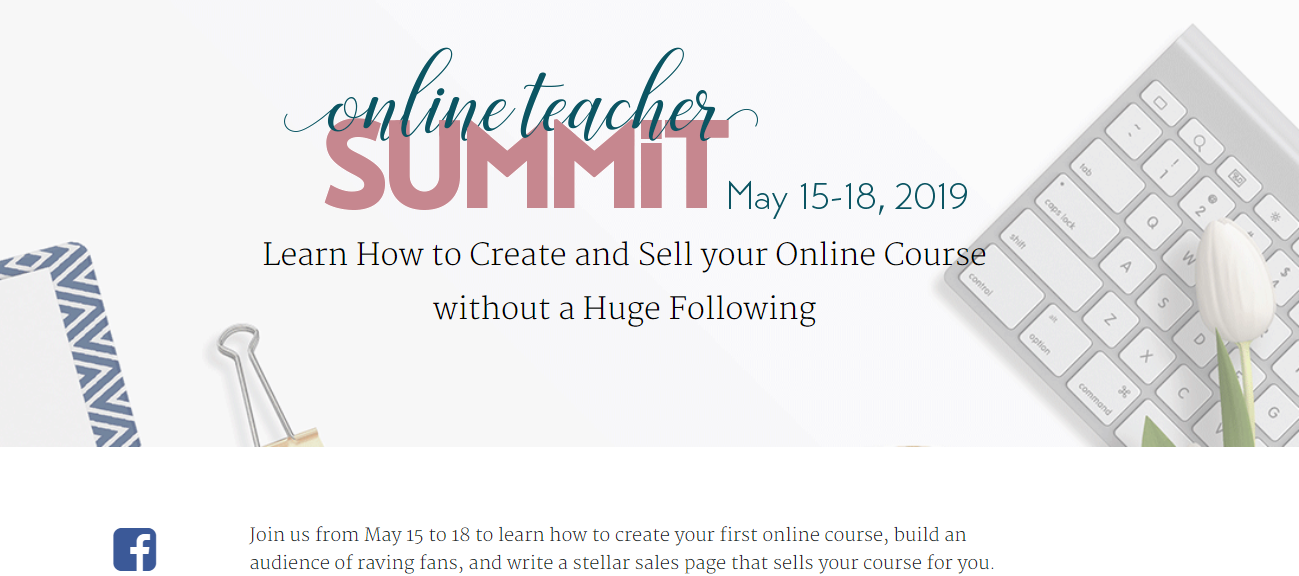 Teachabel demand generation with a summit