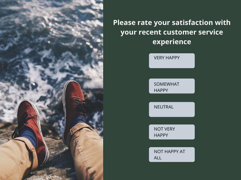 satisfaction question