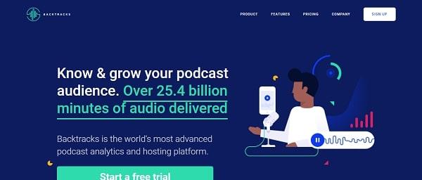 backtracks podcast hosting site