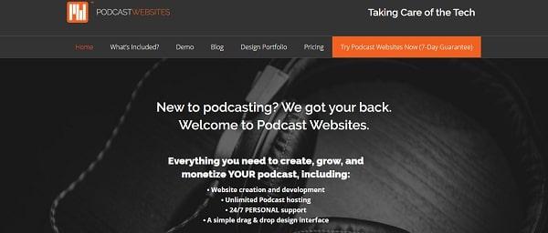 podcast websites image