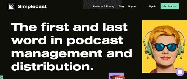 simplecast podcast hosting platform