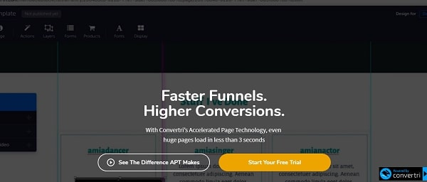 Convertri page builder
