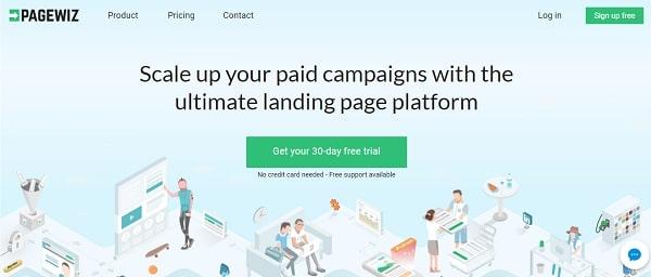 Pagewiz Landing Page Builder