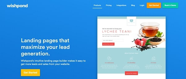 Wishpond landing pages