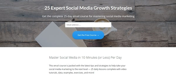 email marketing for podcasters course