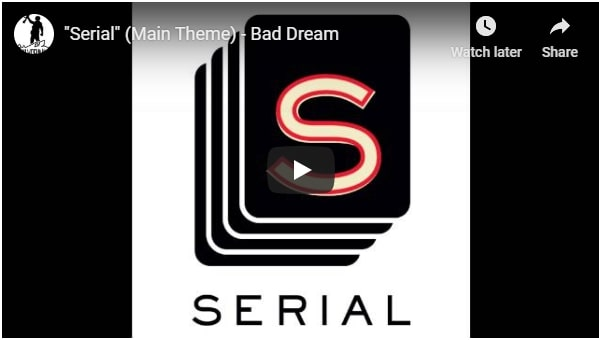 serial podcast music